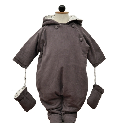 La Queue du Chat Snowsuit Frog Creme