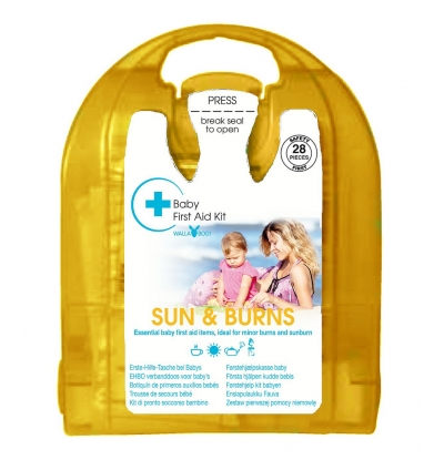 Wallaboo Mini EHBO-kit Sun & Burn